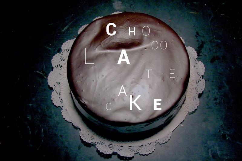 Chocolate Cake by Benjamin Shweky