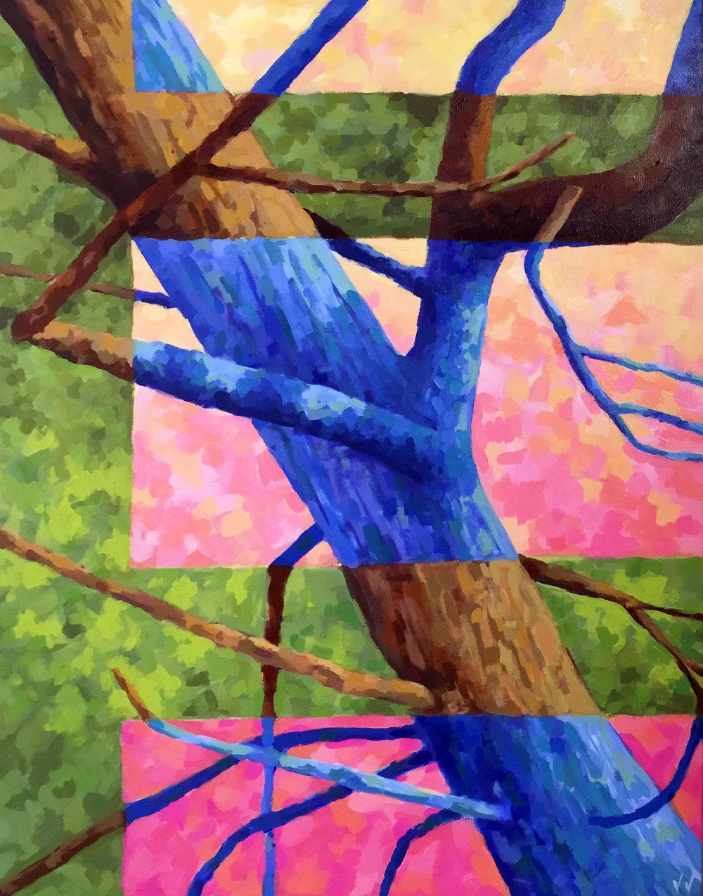 Still Life of an Oak Tree