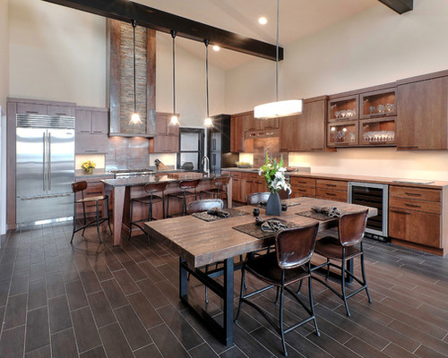 Rustic Modern best 25+ modern rustic kitchens ideas only on pinterest | rustic