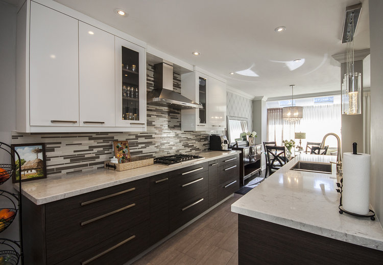 CONTEMPORARY LINES — DK&M | Design Kitchens and More