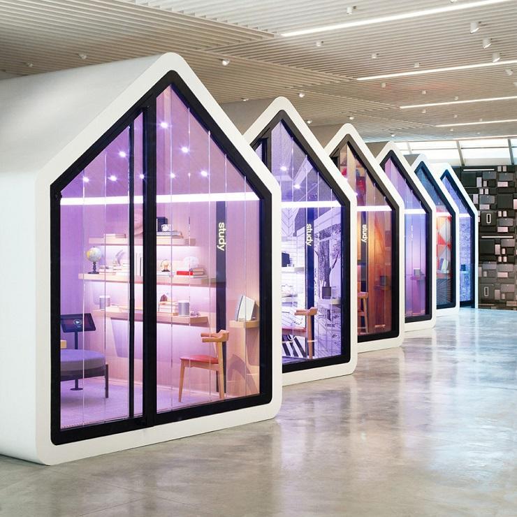 Sonos concept store, SOHO New York