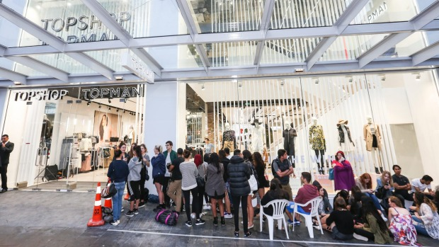 Topshop opening in Auckland (Image: Stuff.co.nz)