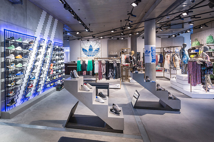 Adidas Originals store Britomart curating a specific streetwear and fashion range