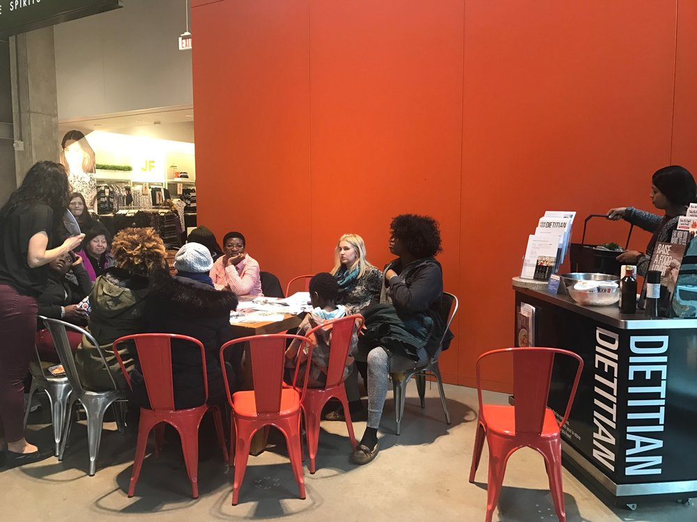 A class held mulitple times daily at the Loblaws, Maple Leaf Garden