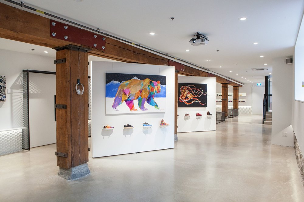 A gallery experience which is approachable and engaging