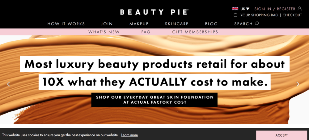 Beauty Pie UK
