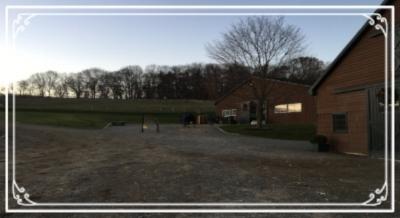 Sunrise at Knightsbridge Farm, Atlantic Highlands New Jersey