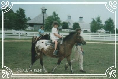 Pony Rides at the Kentucky Horse Park 1987