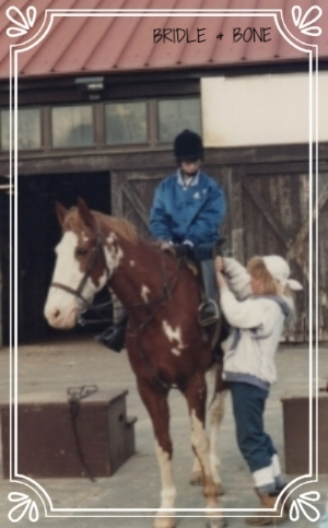 Me and Picasso, Watching Stables circa 1989.