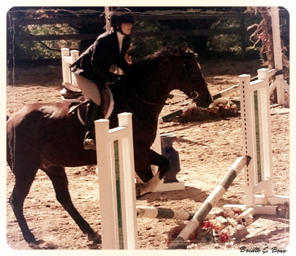 One of my few forays into schooling shows resulted in 2nd place over crossrails. PC: Jason Wallace, 2014