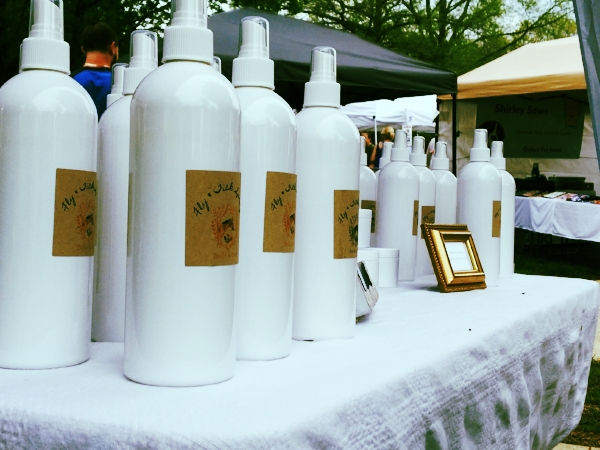 Our signature Fly & Tick Spray was available for sale, as well as the rest of our signature products.