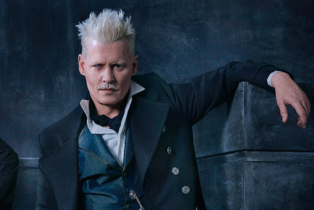 Promo Photo of Johnny Depp in Fantastic Beasts: The Crimes of Grindelwald