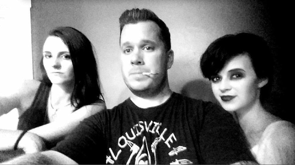 a selfie of Rebecca, Alexx and I