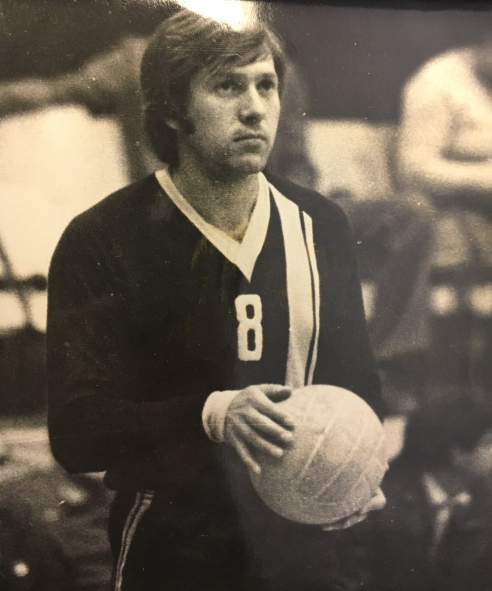 Sasha Preparing to Serve in 1979