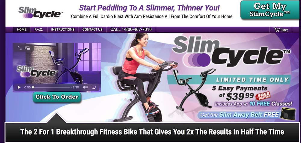 Fitness Informercial- Slim Cycle (Spring 2018)