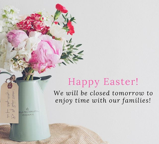 Happy Easter from the Peridot Team! 🌸🌷🐇We are open until 8pm tonight, then we will be closed on Sunday! Enjoy your weekend!!