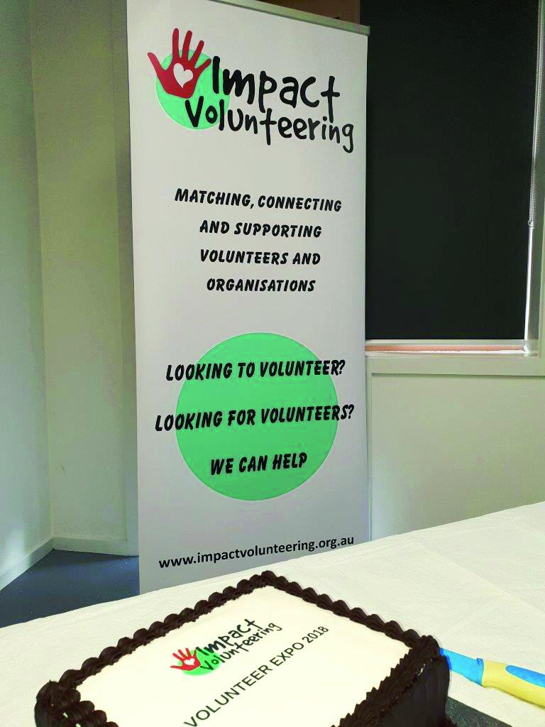 Banner + cake - Volunteer Expo 2018 - 9 May 2018 by mark (2) (002).jpg