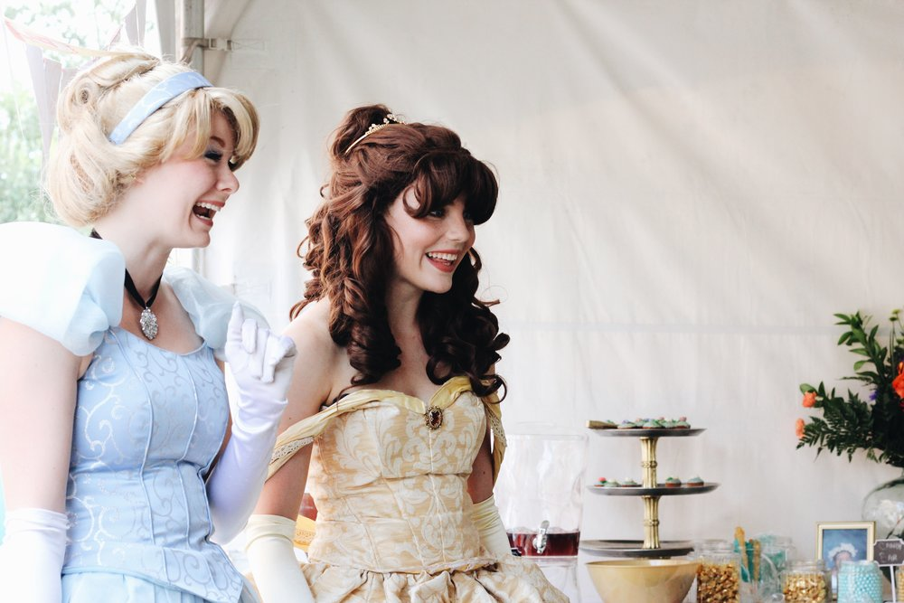 fav event I shot: PRINCESS tea party, i repeat PRINCESS!