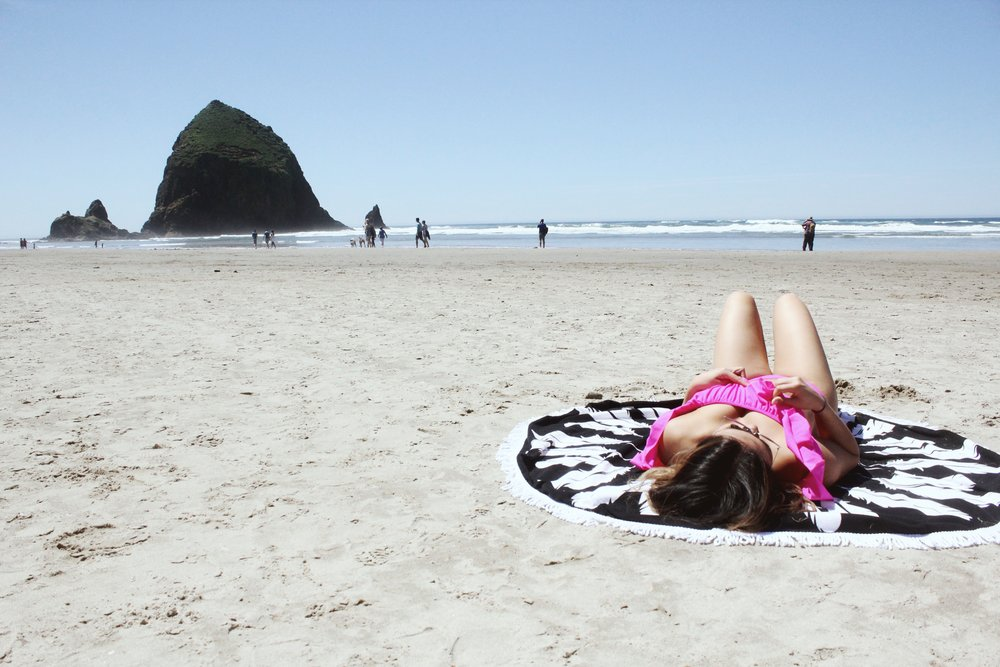 beach blanket : Heavenly couture