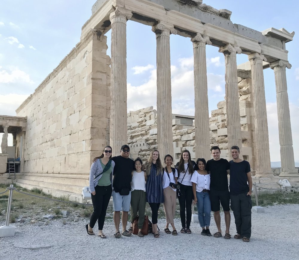THE 2018 COLLECTIVE GREECE TRIP TEAM!