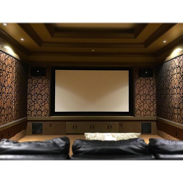 3/3 Classic cinema room we completed for our Adera Client #vancouver #interiordesign #architecture #yvr #hometheater #lowvoltage #4k #jvc #thx #audio #video #design #luxuryhomes #vancity #av #nofilter