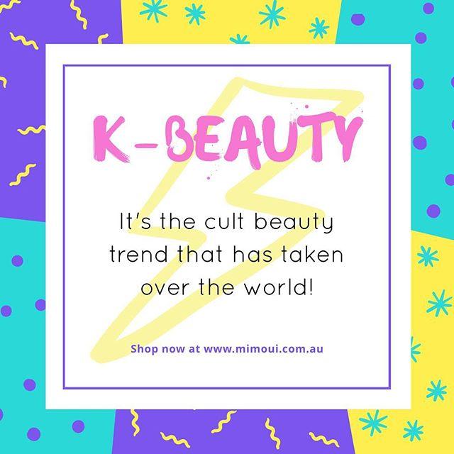 K-Beauty has become a huge phenomenon! Perfect skin days are ahead, shop now at www.mimoui.com.au! #australianbeautyblogger #bblog #bblogger #bvlogger #rasianbeauty #rasianbeautyproducts #instabeauty #koreanbeauty #kbeauty #koreanbeautyproducts #koreancosmetics #koreanskincare #koreanmakeup #koreanskincareroutine #skincareroutine  #skincareaddict #beautyaddict #abcommunity #beautycommunity #goldcoast #queensland #brisbane #melbourne #sydney #tasmania #perth #adelaide #darwin #canberra