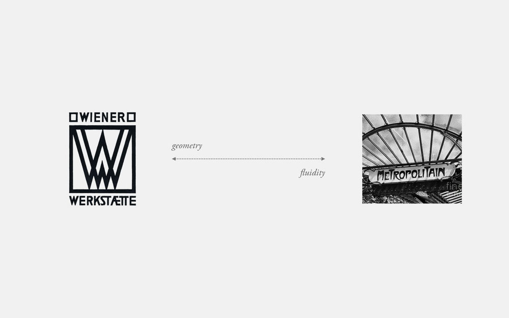 Two poles of influences: geometric vs fluid