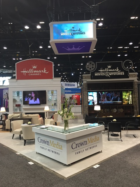 2015 Crown Media Booth at INTX
