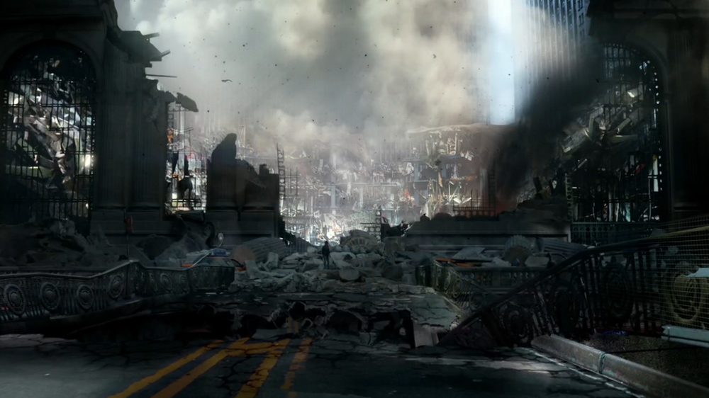 Grand Central Bombing and our #1 suspect Alex Parrish.Quantico
