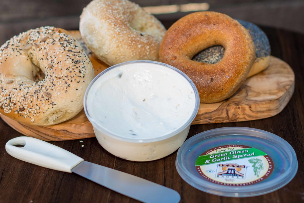 Green Olives & Garlic Spread