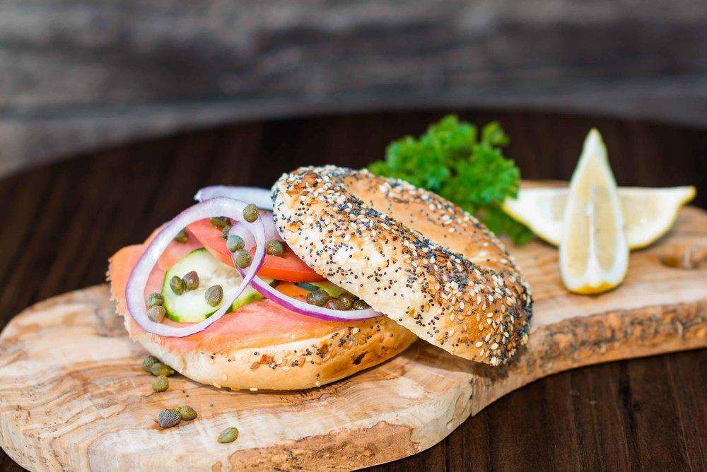 Lox Gourmet Sandwich