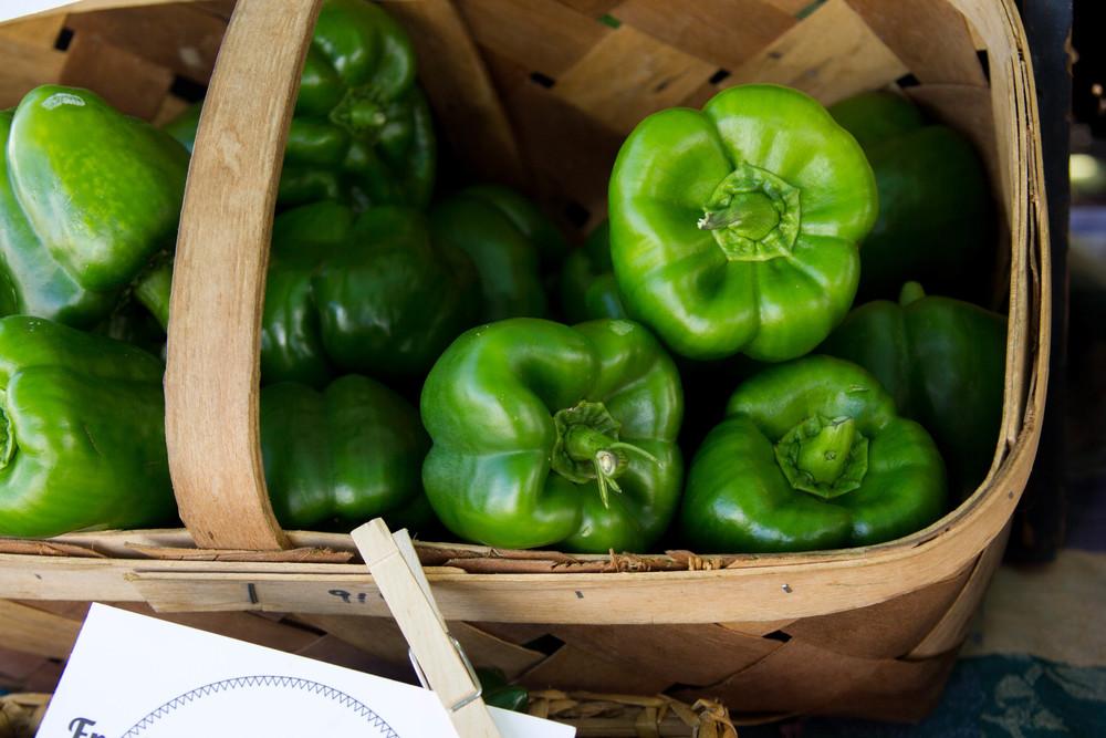 Fresh Produce at the Wesleyan Market!