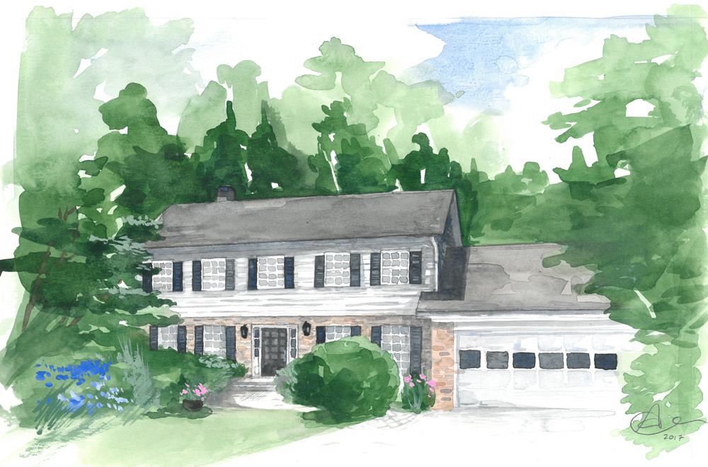 Anna Oh Home Illustration