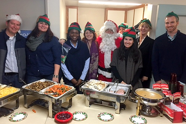 ARYZTA/La Brea Bakery/Otis Spunkmeyer provided a chef-prepared meal and gifts for 42 children on Santa's 'Nice' list that brought smiles and laughs to all last holiday season.