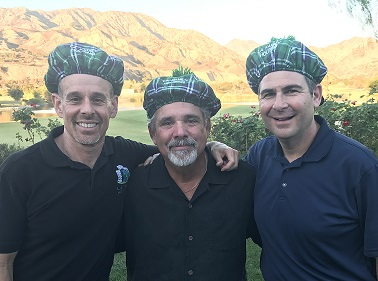 Golf Co-chairs Dave Paller, Steve Lavender, and Michael Kaplan
