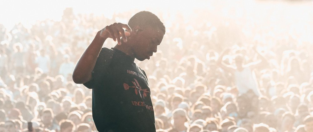 Vince Staples at Spilt Milk 2016 by Yeahsure