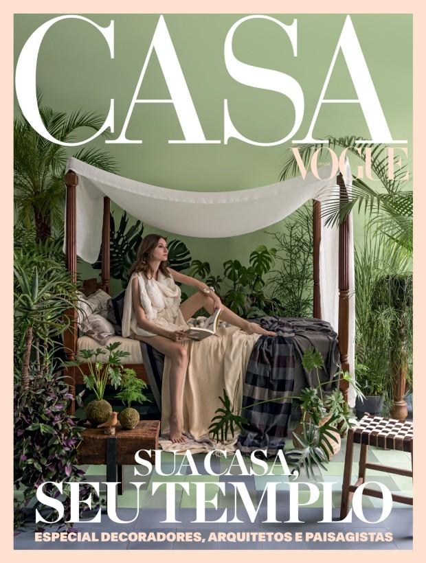 Publicação impressa na Revista Casa Vogue, especial Arquitetos e Decoradores de 2018