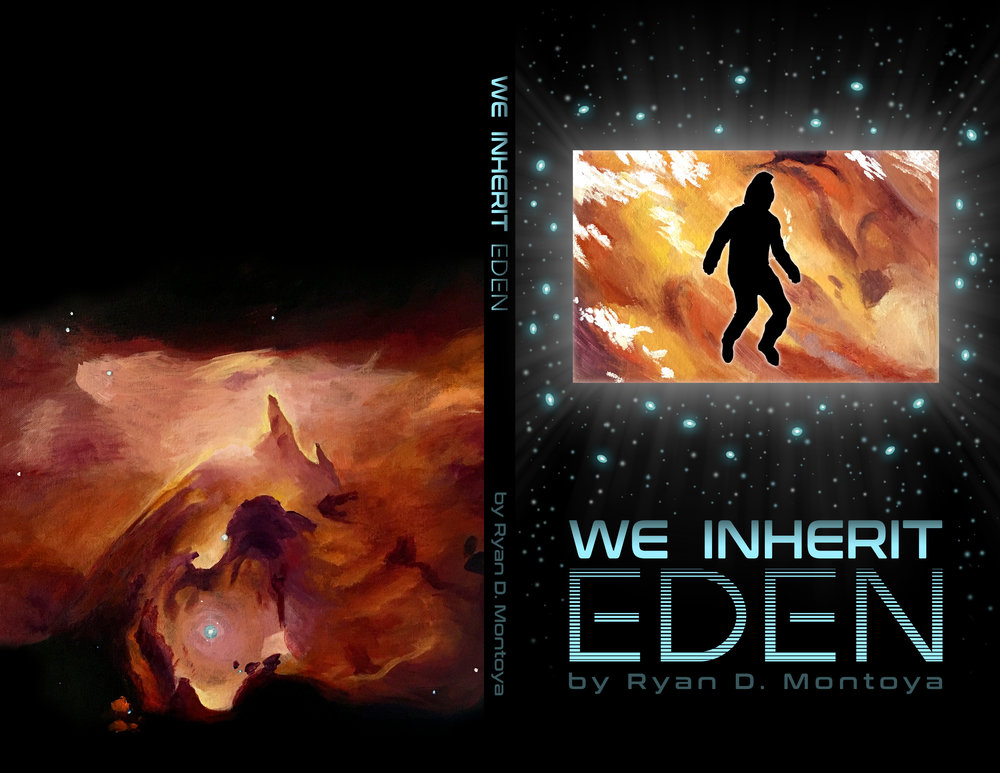 Book Design Spread for We Inherit Eden