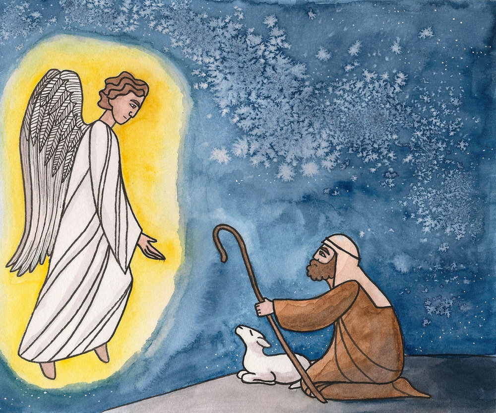 Christmas Shepherds and Angels