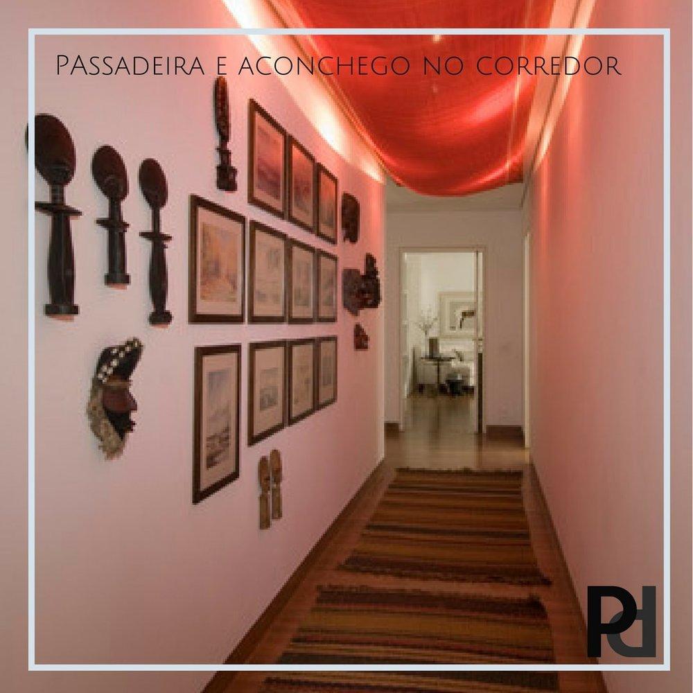 Passadeira corredor  - O Corredor pode ser um espaço sem graça, mas dar atenção à ele e vesti-lo com uma passadeira vai fazer muita diferença!