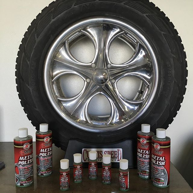 If you need some good aluminum polish, let me know. I have the best, easiest stuff to use!