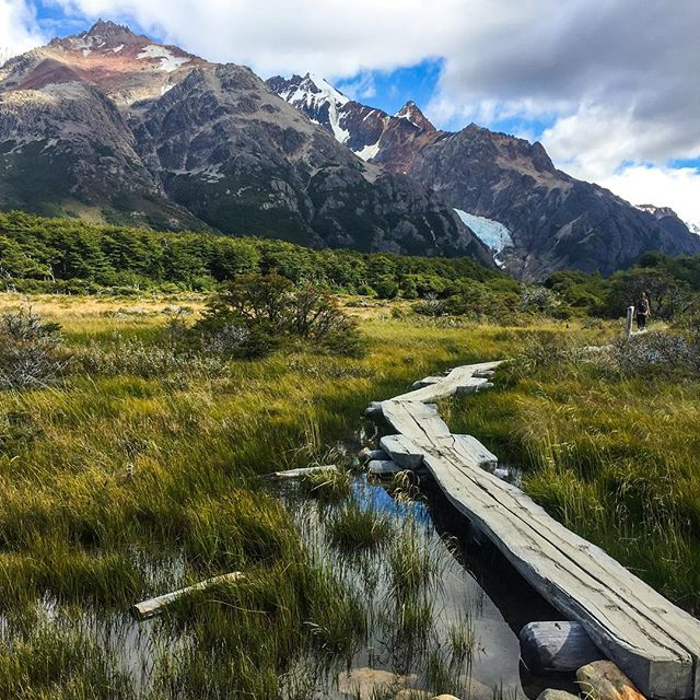 Take me back. #elchaltén