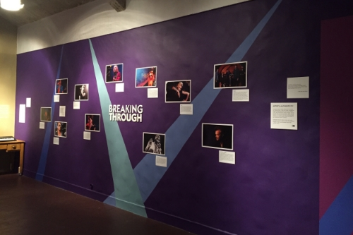 Exhibit:  Breaking Through  , Pasadena Playhouse, 2015 Exhibition Design and Development