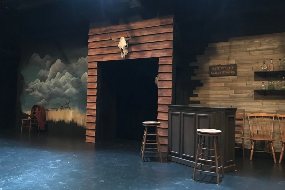 The Laramie Project  , Theatre of Arts, 2018 Set Design