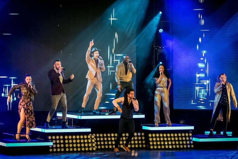 Disney's D Cappella   National Tour, 2019 Scenic and Props