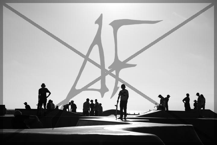 Venice beach skaters - July 2016: Venice, CA
