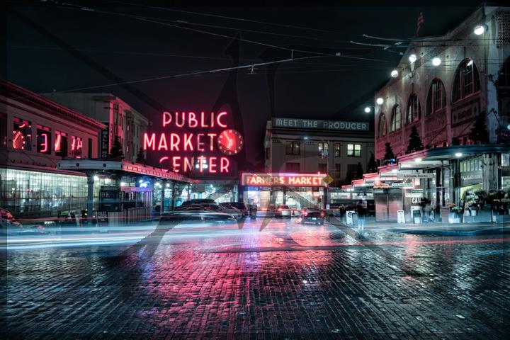 Pike place market - November 2017: Seattle, WA