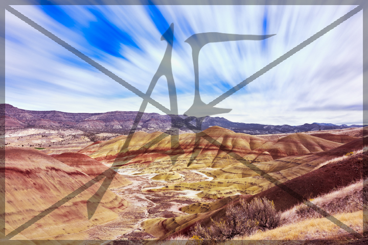 Painted Hills - October 2018: Painted Hills State Park, OR