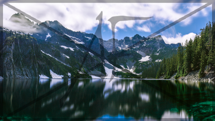 Snow lake - July 2018: Snoqualmie Pass, WA