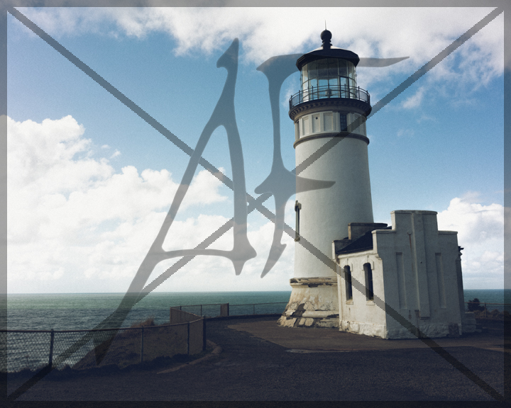 North head lighthouse - March 2018: Cape Disappointment, WA